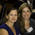 Paola Rojas and Amalia Benk