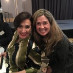 Paola Rojas with Vice President of Argentina Gabriela Michetti